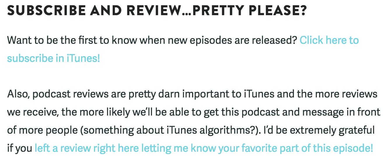 How to Increase your iTunes Podcast Reviews - Oscar Hamilton