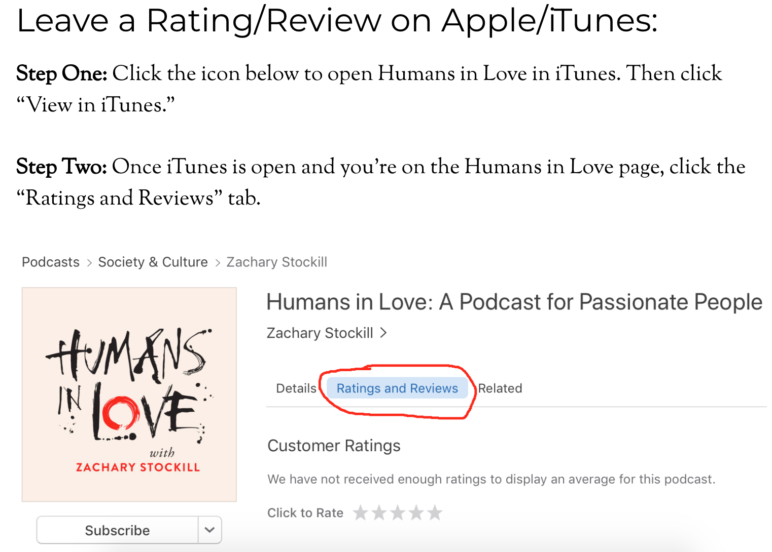 How to Increase your iTunes Podcast Reviews - Oscar Hamilton